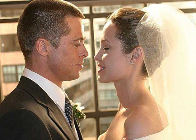 A Still From Mr Mrs Smith Featuring Angelina And Brad