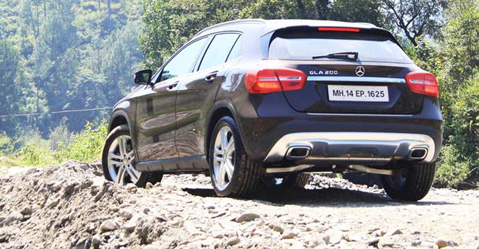 Mercedes gla class suv launched prices start at rs for Mercedes benz gla 300