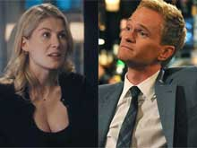 Rosamund Pike: Filming Sex Scenes With Neil Patrick Harris was Awkward