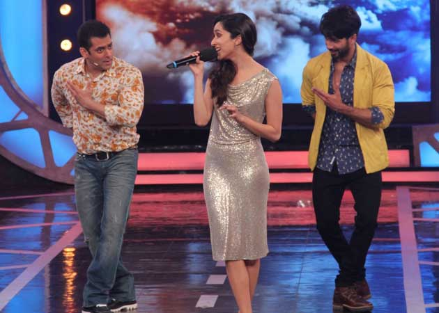 Salman And Shahid Dance To Shraddhas Tune On The Sets Of Big Boss 8