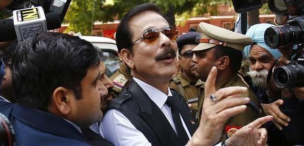A file photo of Sahara chief Subrata Roy