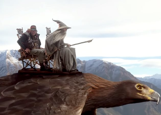 A Most Unexpected Air Safety Video, Starring Hobbits and Wizards