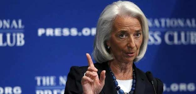 File photo of IMF's Christine Lagarde