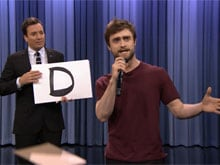 Daniel Radcliffe, Rap Star. No Magic Wand Required