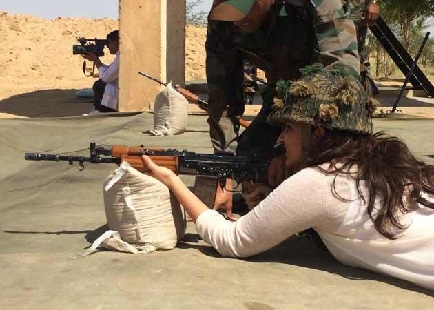 Meeting Army Jawans 'Life Enriching Experience' for Parineeti Chopra