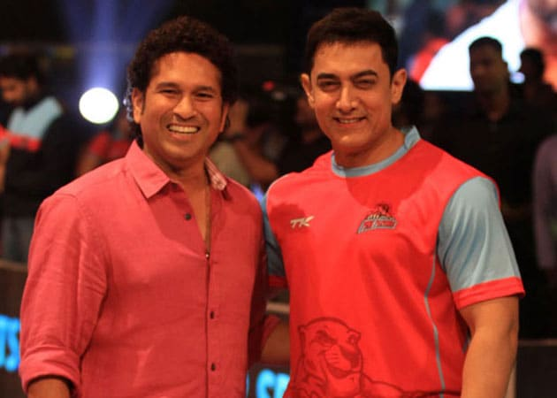 Image result for Sachin Tendulkar and Aamir Khan