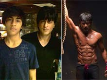 Shah Rukh Khan Worked Out Like His Son Aryan for Eight-Pack Abs