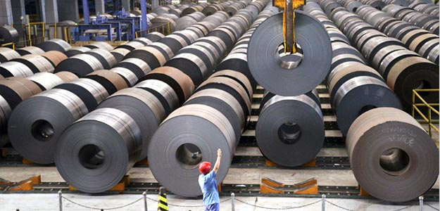 China Factory Activity Contracts for Fifth Month