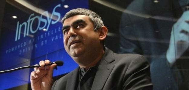 File photo of Infosys CEO Vishal Sikka