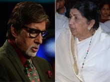 When Amitabh Bachchan Made Lata Mangeshkar Cry