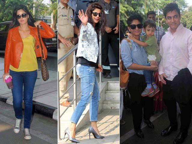 Celebs Spotted Leaving for Arpita's Wedding, Shah Rukh Khan Not Among Them