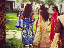 Arpita Khan's Wedding: In First Pics, Bride Wears Cream Lehenga