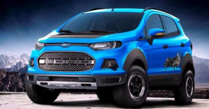 Ford Ecosport Storm Beauty And Beast Concepts Revealed