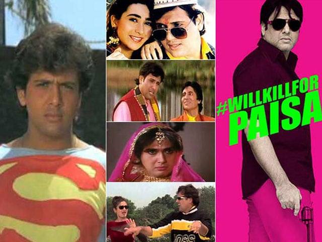 10 Awesome Govinda Roles, From Superman to Animal Whisperer