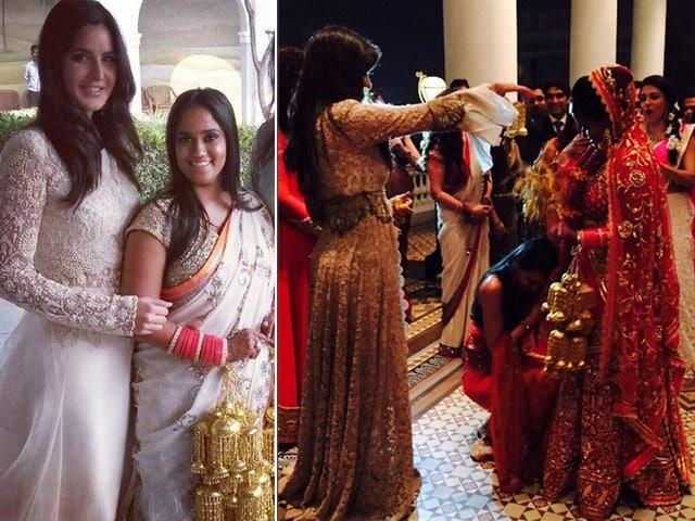Katrina Kaif Gets a Kaleera From Arpita Khan