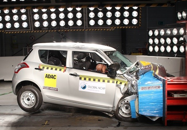 Maruti Suzuki Swift Crash Test