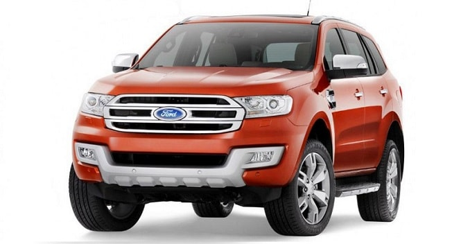 New Ford Endeavour
