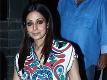 Sridevi is Dressed by Manish Malhotra in New Movie
