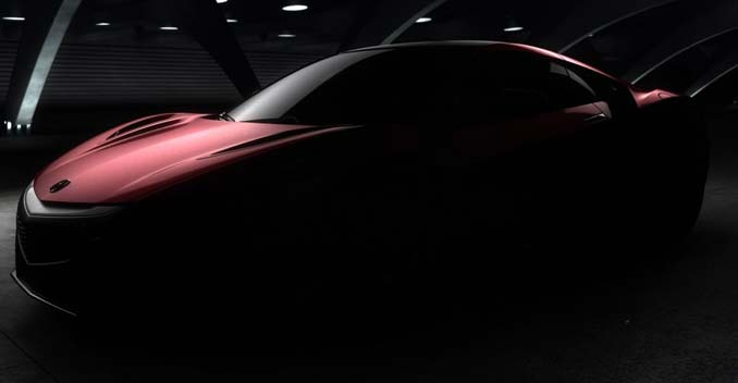 Production Version of the Acura NSX Sports car To be Launched Next Month