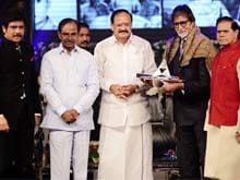 Amitabh Bachchan Conferred ANR Award