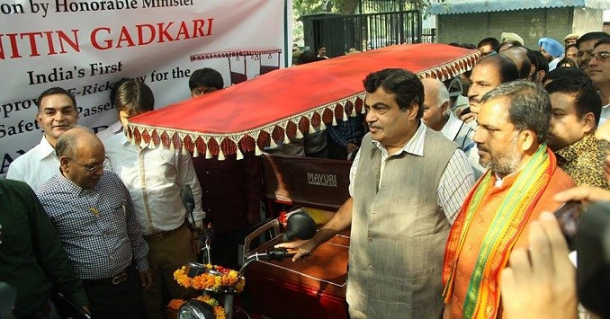 President Gives Nod to E-Rickshaws