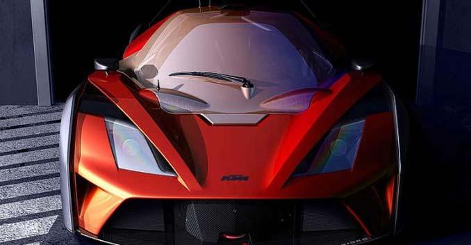 320bhp KTM X-Bow GT4 Teased