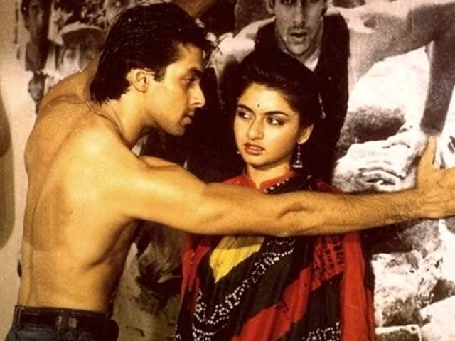 Salman Khan Flirted With Bhagyashree While Shooting Maine ...