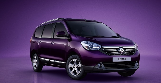 Renault Lodgy MPV's First Picture Out; Launch in 2015
