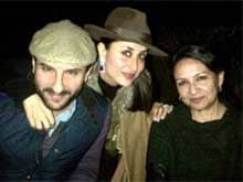 Sharmila Tagore Celebrates Birthday in Ranthambore With Saif, Kareena