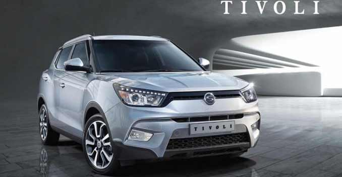 Ssangyong's Subcompact Crossover Tivoli Revealed