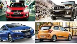 Top 10 Cars Sold in 2015-16 Fiscal; 6 Maruti Suzuki Cars Make It to the List