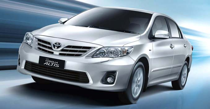 toyota recalls 5834 corolla altis sedans in india ndtv carandbike. Black Bedroom Furniture Sets. Home Design Ideas
