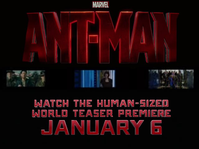 First Teaser of Ant-Man Revealed