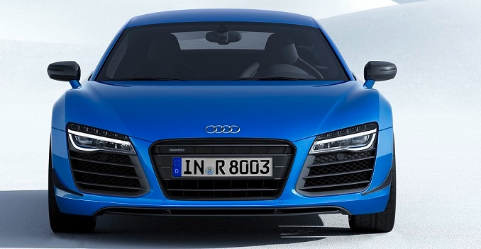 Audi R8 LMX Launched; Features Laser Headlights