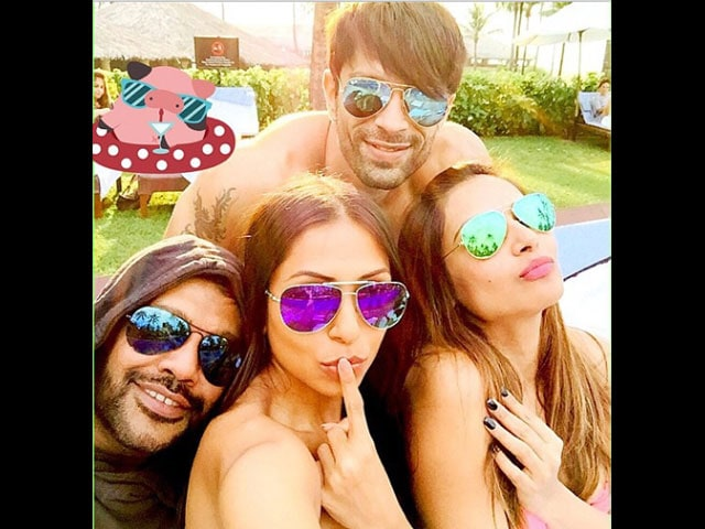 Bipasha Basu Rings In The New Year With Karan Singh Grover