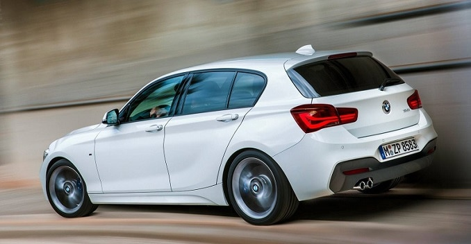 New BMW 1 Series' First Pictures Out