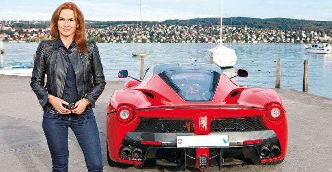 One-in-499: Cornelia Hagmann and Her Rosso Corsa LaFerrari