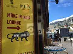 India Back in Reckoning at Davos, Say Business Leaders