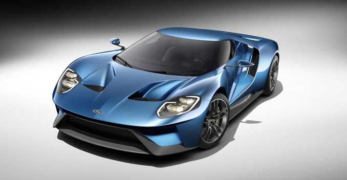 Ford GT Revealed; Will Get a 600+ bhp Delivering Twin-Turbo V6