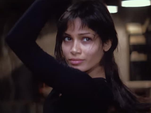 Freida Pinto in a still from Desert Dancer .