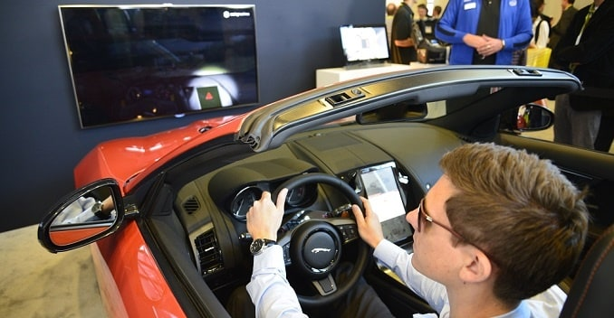 Jaguar F-Type With Driver Attention-Monitoring System Showcased