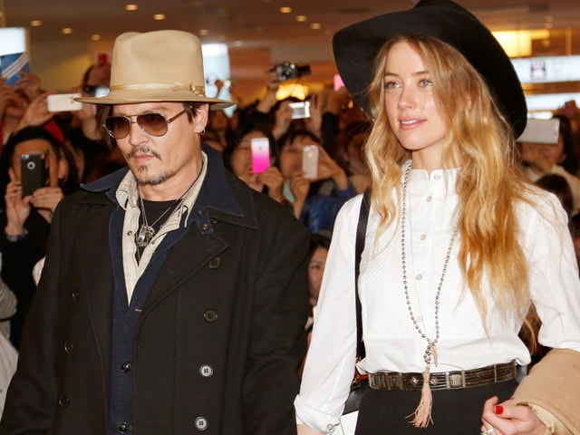 Johnny Depp, Amber Heard to Marry in Bahamas Next Weekend