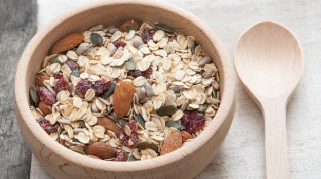 oats and muesli