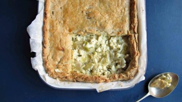 ... creamy cheese, how do you cook the onions - and does it need spuds and