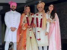 Soha Ali Khan Marries Kunal Khemu, Saif-Kareena Play Hosts