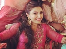 Soha Ali Khan's Mehendi: The Bride Wore Pink