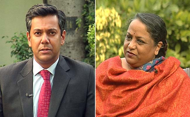 'Reputation Maligned, Record Trashed': Former Foreign Secretary Sujatha Singh to NDTV