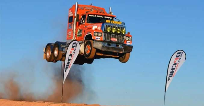 Truck Jumps 101.9 Feet To Set Distance Record