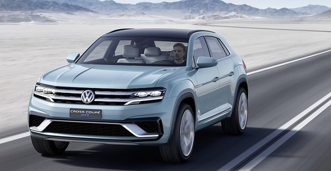 Volkswagen Cross Coupe GTE Debuts at 2015 Detroit Auto Show