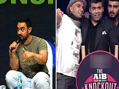 'Not Impressed by Bad Language' Says Aamir Khan About the AIB Roast
